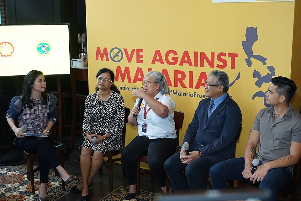 Shell Malaria panel discussion