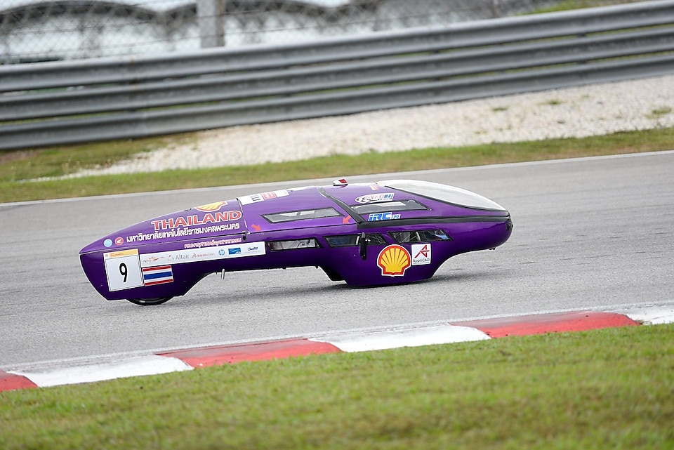 Shell Eco-marathon Asia's 2019 Prototype ICE category winner, team RMUTP Racing