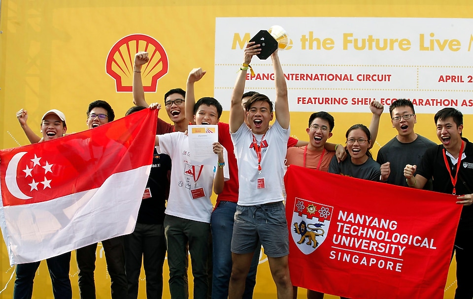 Nanyang E Drive qualifies for Drivers' World Championship