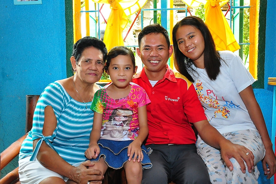 Rowel and his family