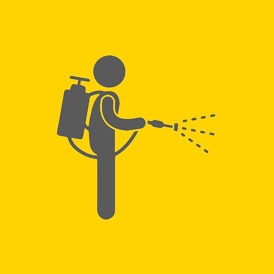 spray person icon